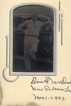 dark photo of soldier